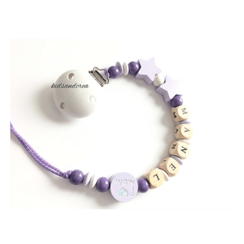 Attache-tetine-F138-tout-bois violet