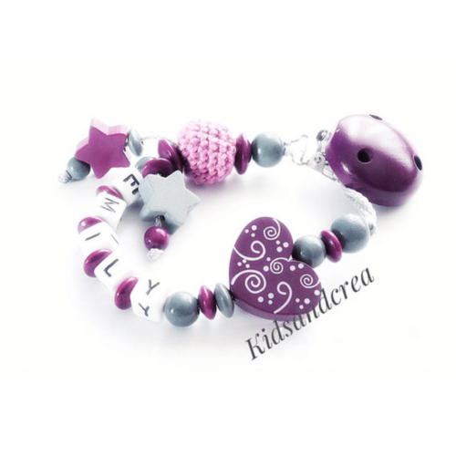 Attache-tetine-coeur-motifs-violet