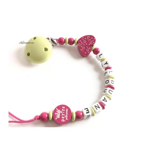 attache-tetine-clip-anis rose coeur