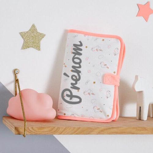 protege carnet de sante petites licornes