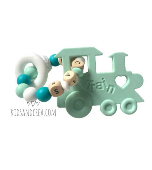 anneau dentition personnalisé bébé