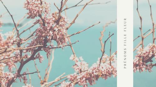 Prénom fille fleur