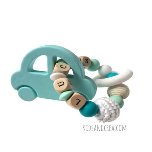 anneau dentition personnalise voiture