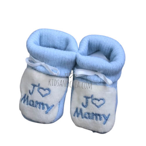 chausson bebe garçon mamy